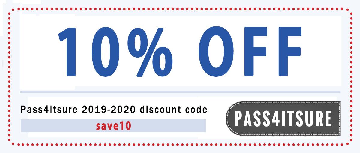 pass4itsure 10% coupon